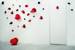 """Emiting Lighting Body""material:steel/paint size:w500xd400xh280cm Art Gallery & Legion/Tokyo Japan  2020"